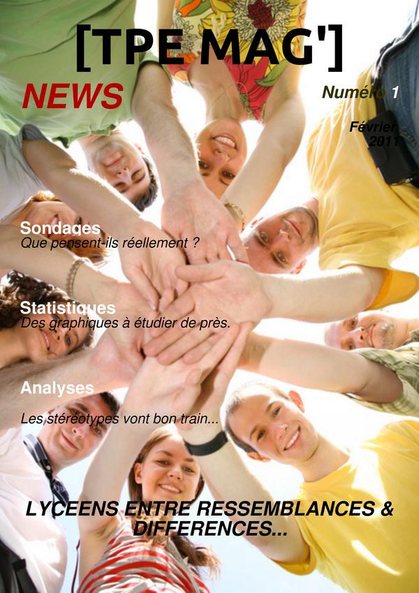 TPE - Lycéens, entre ressemblances et différences - Madmagz